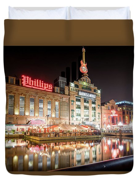 New Life Of Old Power Plant Duvet Cover