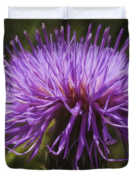New Mexican Thistle Duvet Cover