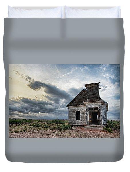 New Mexico Church # 2 Duvet Cover