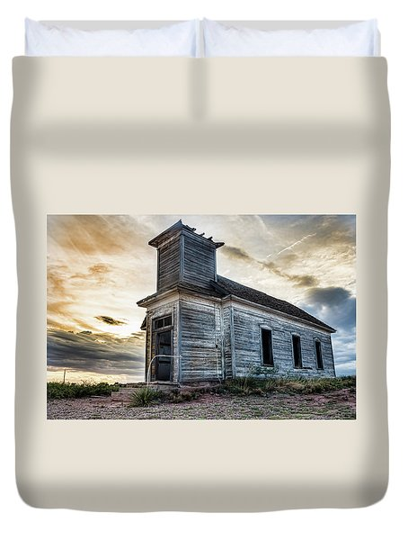 New Mexico Church #3 Duvet Cover