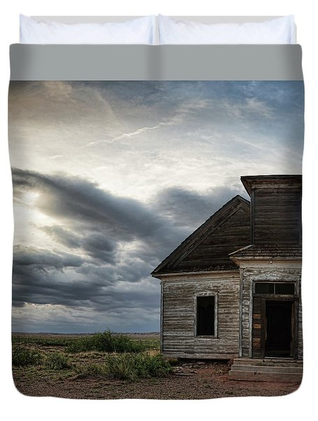New Mexico Church Duvet Cover