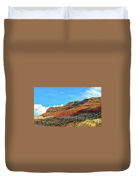New Mexico Landscape Duvet Cover by Gina Savage