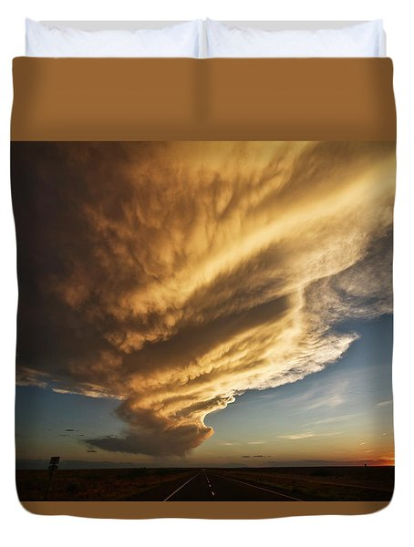 New Mexico Structure Duvet Cover