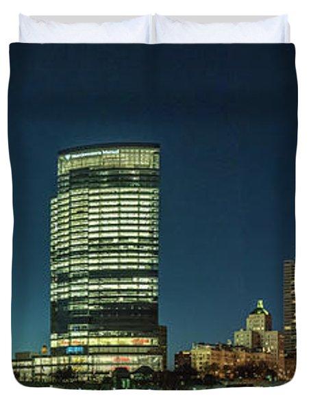 New Milwaukee Skyline Duvet Cover