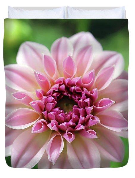 New Mornings Bring New Flowers Duvet Cover