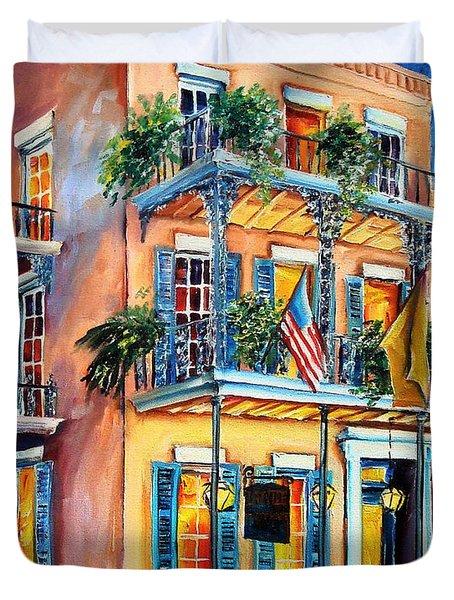 New Orleans' La Fitte's Guest House Duvet Cover by Diane Millsap