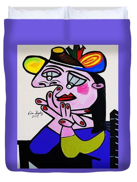 Picasso  Bug Eye Duvet Cover