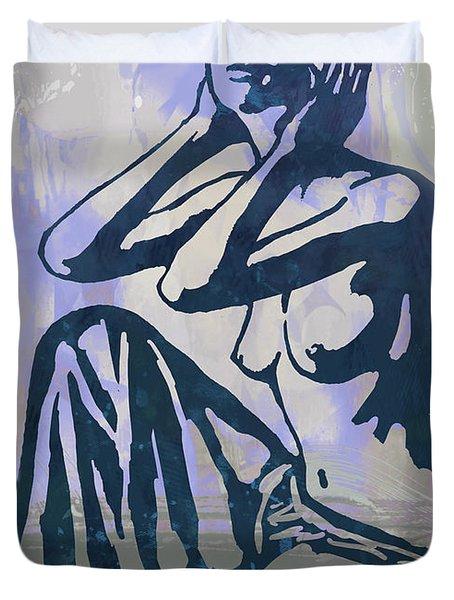 New Pop Art Nude Poster   Duvet Cover
