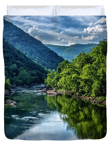 New River Gorge National River 3 Duvet Cover