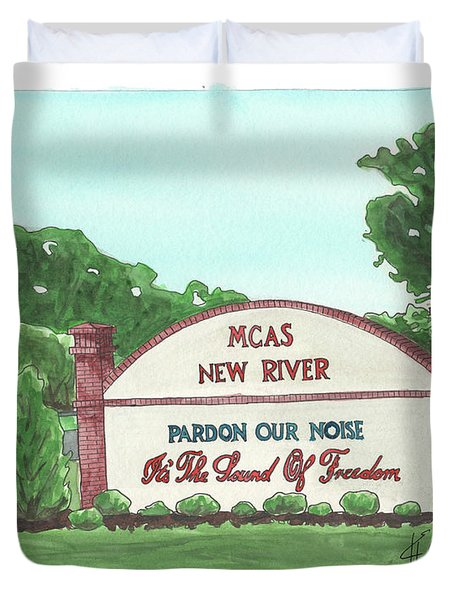 New River Welcome Duvet Cover