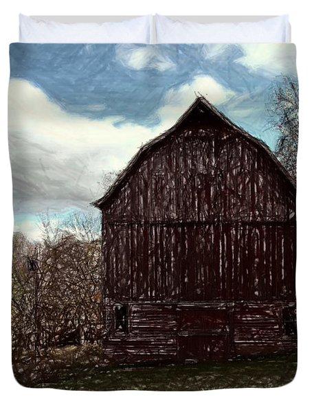 New Road Barn Duvet Cover
