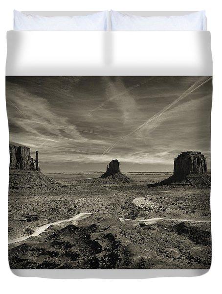 Monument Valley 9 Duvet Cover