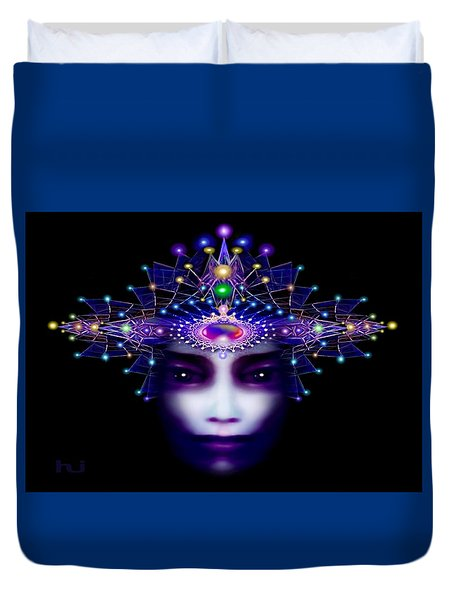Celestial  Beauty Duvet Cover by Hartmut Jager