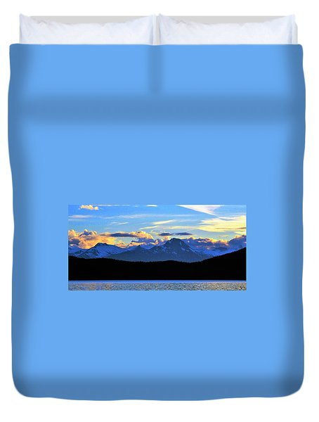 New World Duvet Cover by Martin Cline
