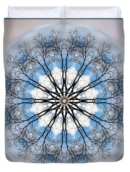 New Year Mandala - Duvet Cover