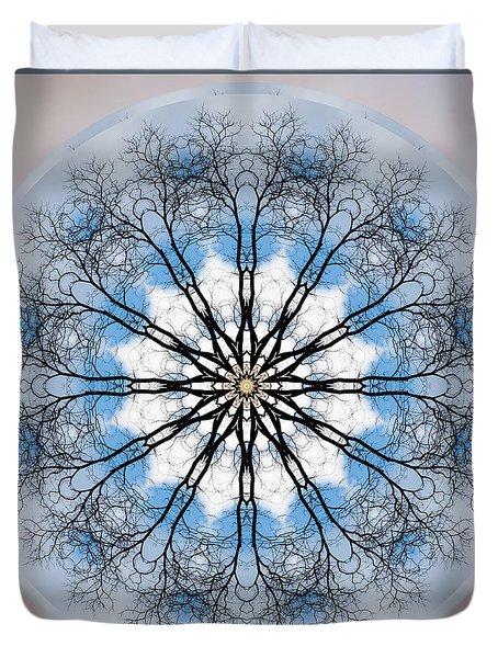 New Year Mandala - Duvet Cover