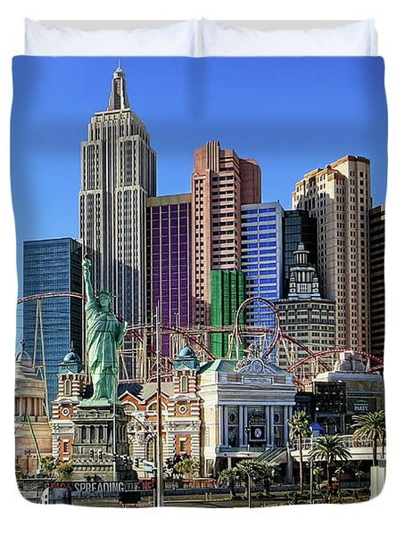 New York , New York Duvet Cover