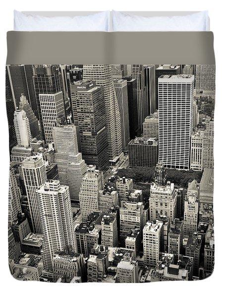 New York 1 Duvet Cover