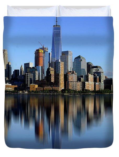 New York 2 Duvet Cover
