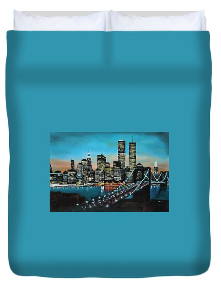 New York 910 Duvet Cover