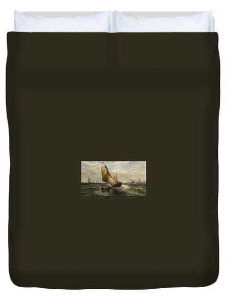 New York Bay Duvet Cover