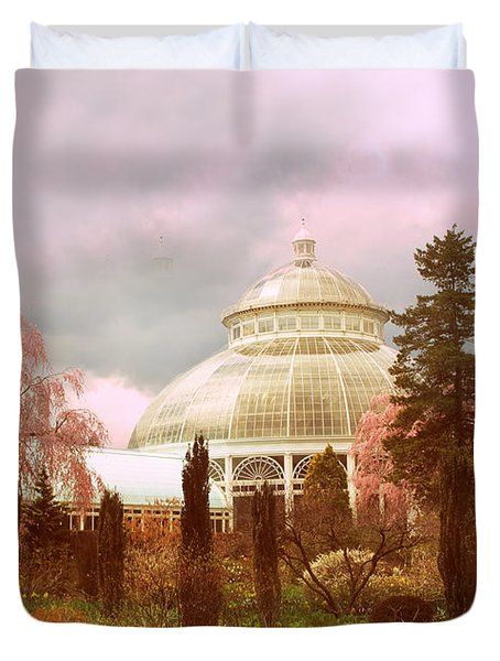New York Botanical Garden Duvet Cover