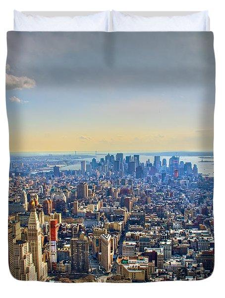 New York City - Manhattan Duvet Cover
