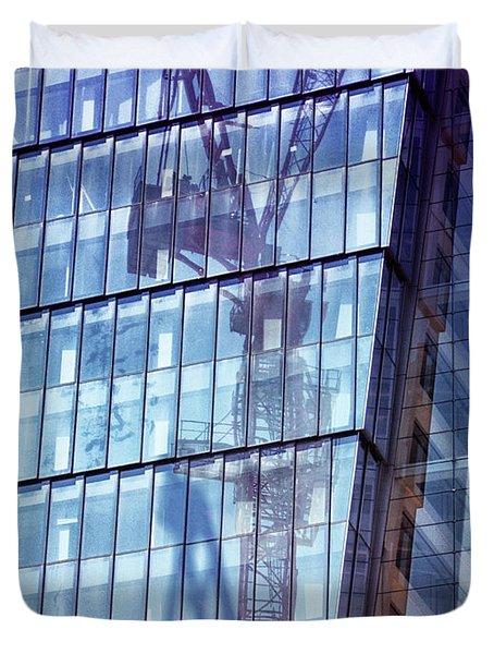 New York City Skyscraper Art 2 Duvet Cover