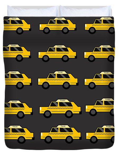 New York City Taxi Duvet Cover