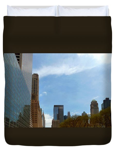 New York Duvet Cover