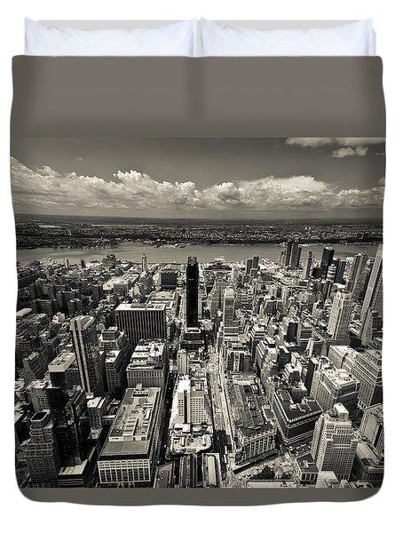 New York Husdon Duvet Cover