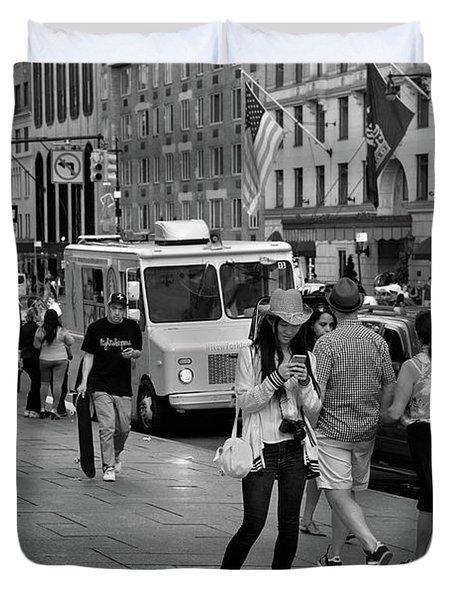 New York, New York 19 Duvet Cover