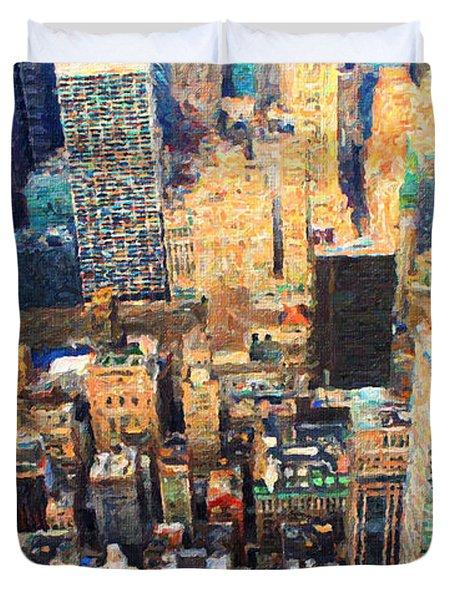 New York, New York Duvet Cover