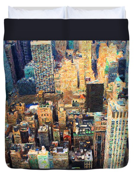 New York, New York Duvet Cover