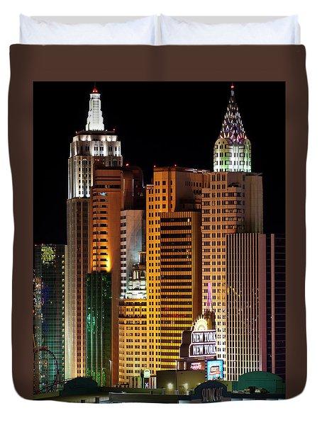 New York New York Duvet Cover by Rae Tucker