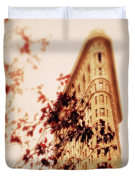 New York Nostalgia Duvet Cover
