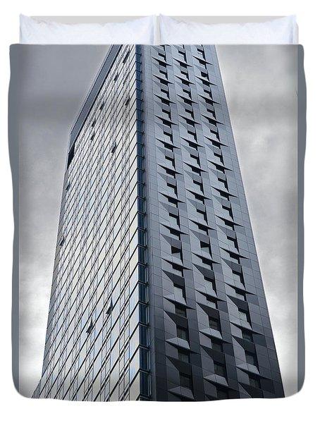 New York Skyscraper-baccarat Tower Duvet Cover
