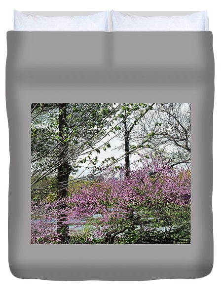 New York Spring Duvet Cover