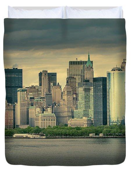New York State Of Mind Duvet Cover