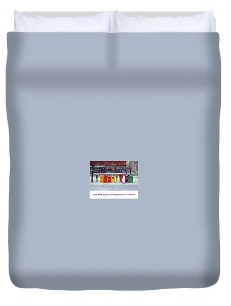 New York Streetscapes 2016 Duvet Cover