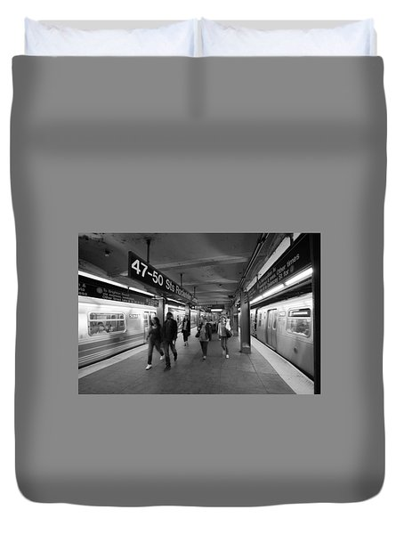 New York Subway  Duvet Cover