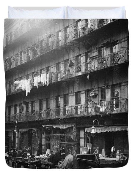New York: Tenements, 1912 Duvet Cover