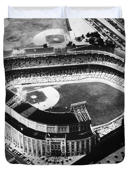 New York: Yankee Stadium Duvet Cover
