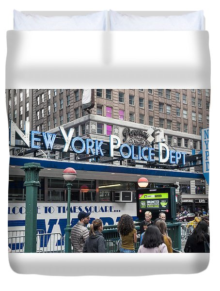 New York's Finest Duvet Cover