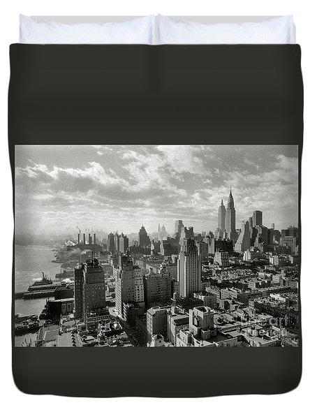 New Your City Skyline Duvet Cover