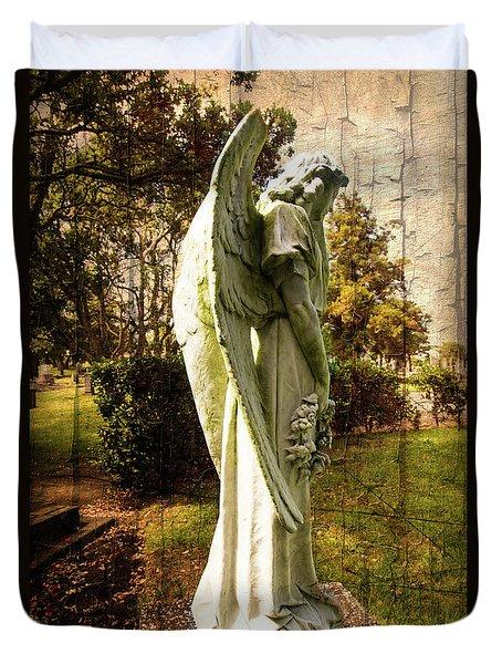 New Zealand Angel Duvet Cover