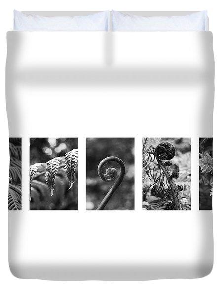 New Zealand Ferns Duvet Cover