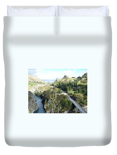 New Zealand Scene Duvet Cover