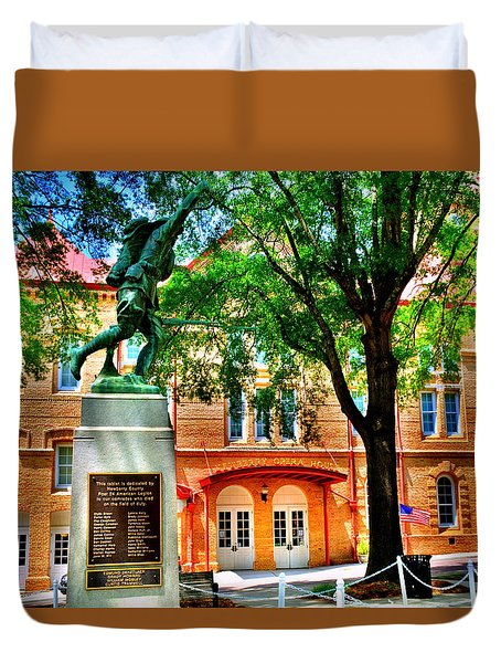 Newberry Opera House Duvet Cover