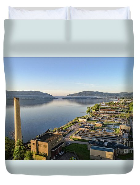 Newburgh And The Hudson Highlands Duvet Cover